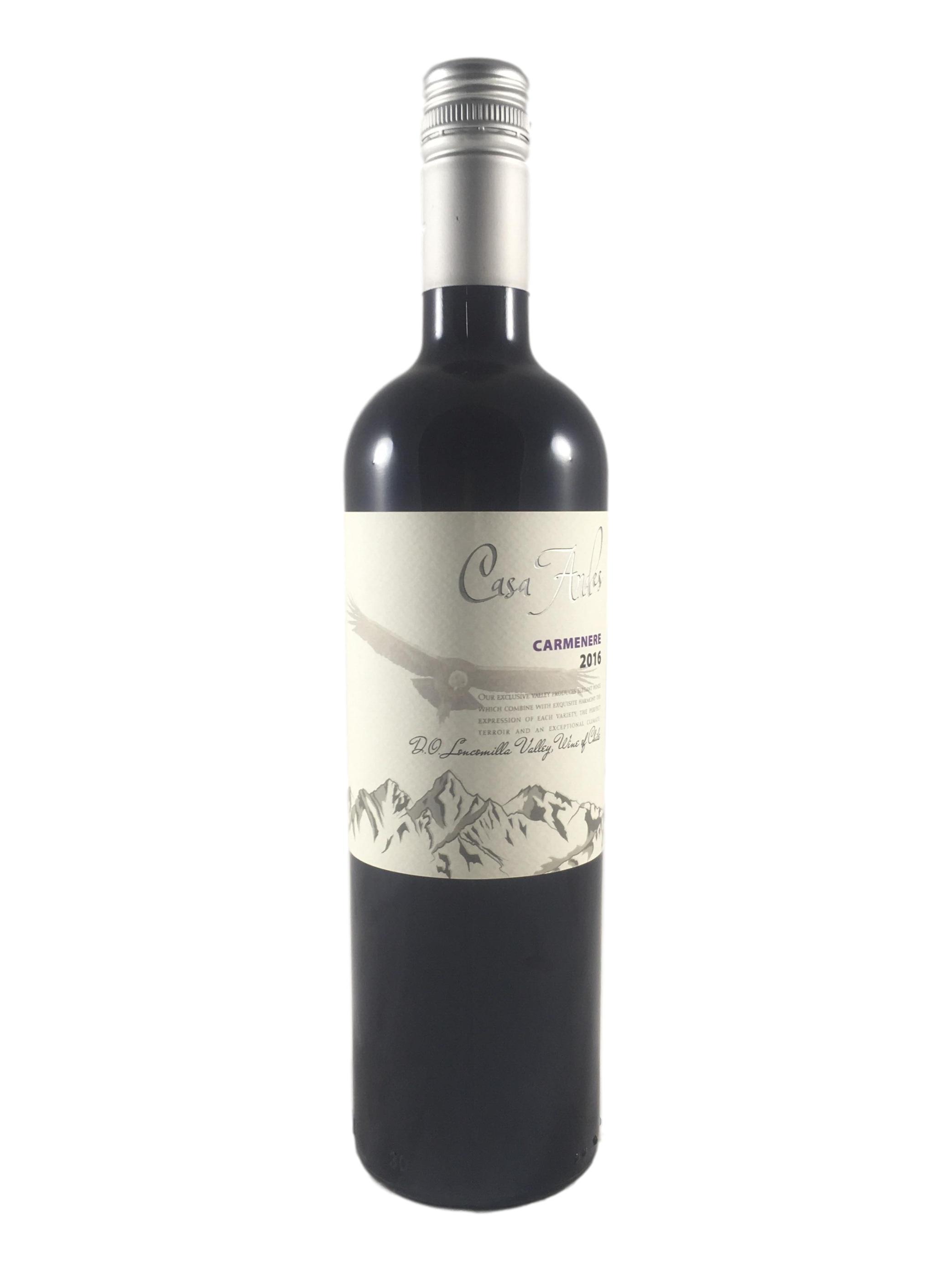 Casa Andes Carmenere - Chilensk rødvin - Vinhuset Top Wine