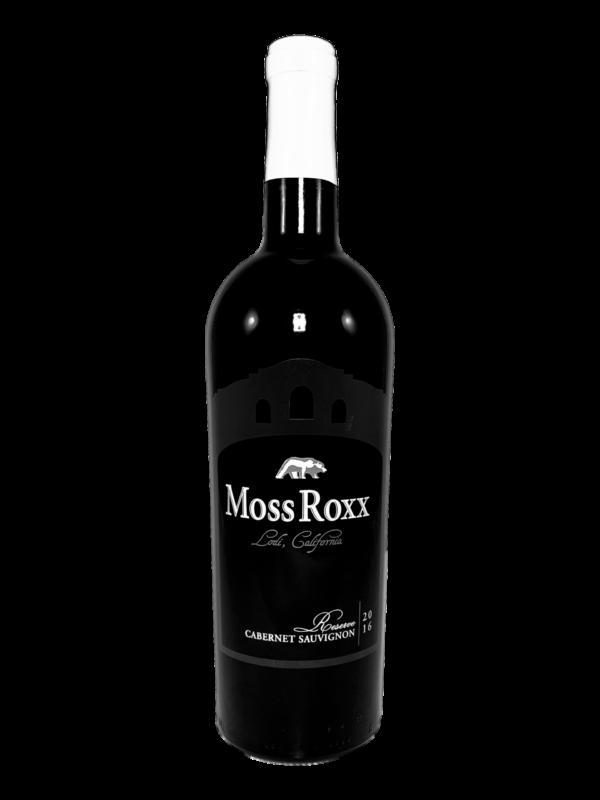 Show picture Moss Roxx Cab. Sauvignon - rødvin fra Californien